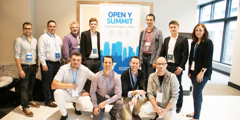 Together with the guests of Open Y Summit 2018