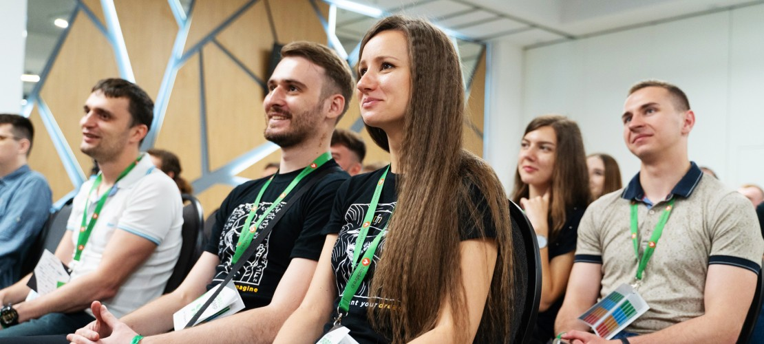 The team of Five Jars at DrupalCamp Kyiv 2019