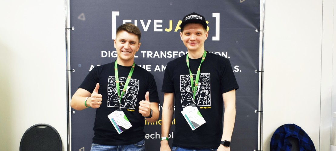 Our guys at DrupalCamp Kyiv